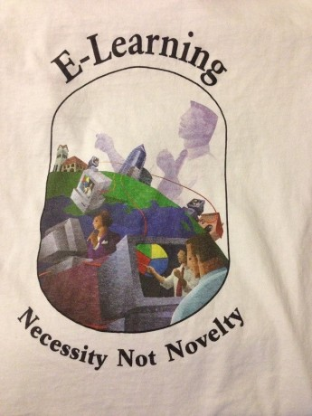 E-Learning t-shirt 2001